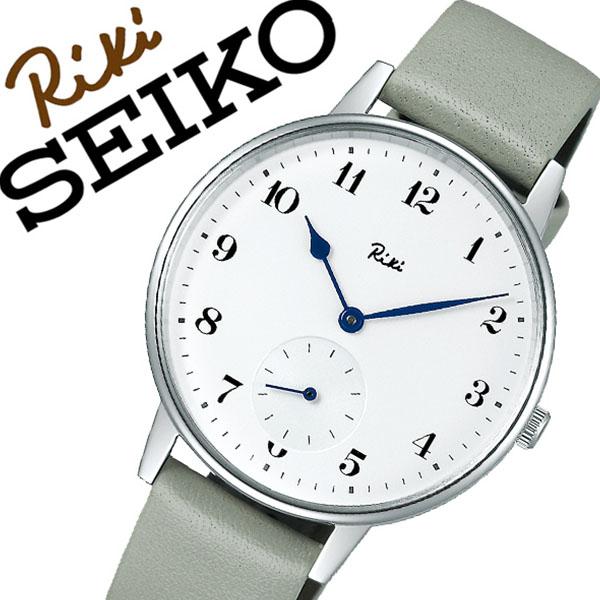 セイコー アルバリキ 腕時計 SEIKO ALBA Riki 時計 セイコー アルバ リキ 時計 SEIKO ALBA Riki 腕時計 メンズ ホワイト AKPK431 ラウンド プレゼント 革 ブランド シンプル ビジネス ファッション カジュアル 父の日 ギフト