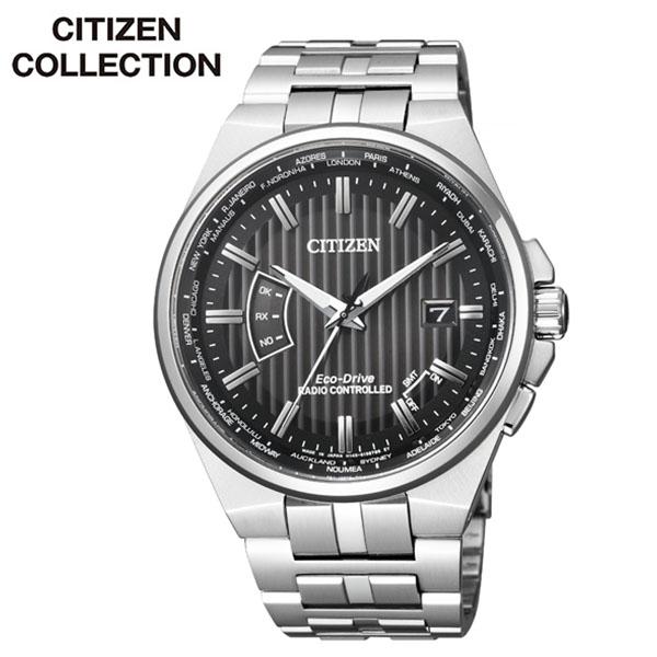 シチズン シチズンコレクション 腕時計 CITIZEN COLLECTION 時計 メンズ ブラック CB0161-82E[正規品 アナログ ラウンド エコ ドライブ 人気 おしゃれ ファッション ブランド ビジネス プレゼント ギフト]