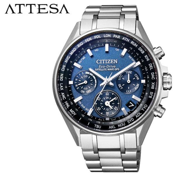 シチズン 腕時計 CITIZEN 時計 シチズン 時計 CITIZEN 腕時計 アテッサ ATTESA メンズ ブルー CC4000-59L アナログ ラウンド エコ ドライブ 人気 おしゃれ クロノ GPS ファッション ブランド ビジネス ギフト 送料無料
