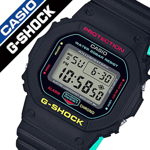 【5年保証対象】カシオ ジーショック 腕時計 CASIO Gshock 時計 G-SHOCK Gショック ジー ショック メンズ ブラック DW-5600CMB-1 レッド イエロー グリーン ブラック サーフ ブリージー ラスタカラー マルチカラー レゲエ ブランド 防水 DW-5600 デジタル 父の日 ギフト