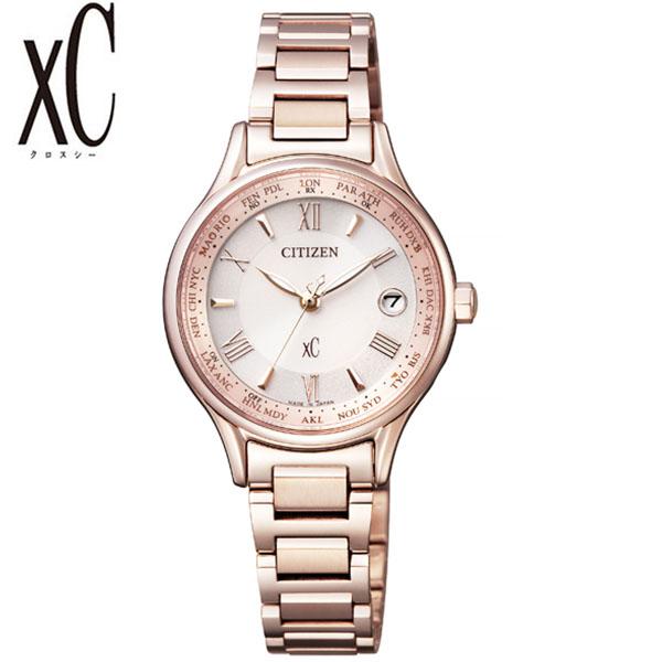 シチズン 腕時計 CITIZEN 時計 シチズン 時計 CITIZEN 腕時計 xC クロスシー レディース ピンク EC1164-53W アナログ ラウンド サクラピンク 電波 人気 おしゃれ ファッション ブランド ビジネス ギフト 送料無料