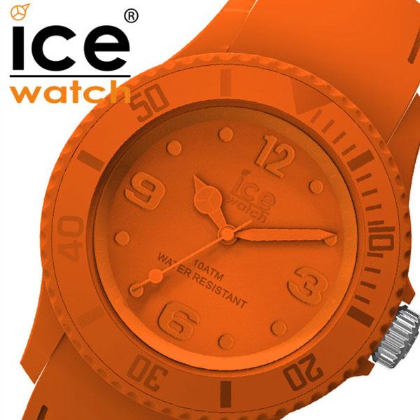 アイスウォッチ アイスユニティー 腕時計 ICEWATCH ICEUnity 時計 メンズ レディース オールオレンジ ICE-016135[正規品 バーミリオン シリコン ワントーン人気 おしゃれ ブランド 防水 ファッション アナログ シンプル プレゼント ギフト]
