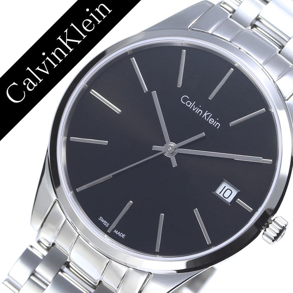 カルバンクライン 腕時計 CalvinKlein 時計 カルバン クライン 時計 Calvin Klein 腕時計 カルバンクライン時計 タイム Time レディース K4N23141 アナログ ブラック シルバー ck シーケー シンプル ファッション 人気 ビジネス ブランド ギフト 送料無料