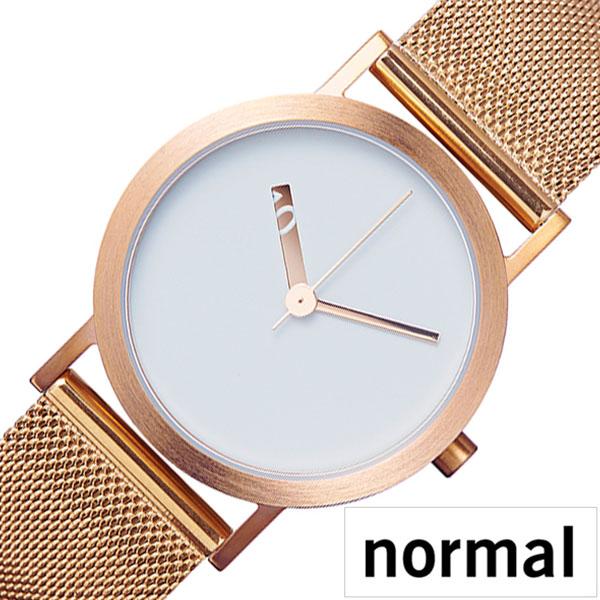 ノーマル タイムピーシーズ 時計 normal TIMEPIECES 腕時計 エクストラノーマル EXTRA NORMAL レディース ホワイト NML020093[正規品 人気 ブランド おすすめ 北欧 デザイン デザイナーズ ミニマル シンプル 個性的 ステンレス メタル ベルト プレゼント ギフト]