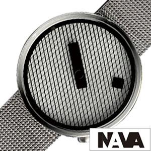 【5年保証対象】ナバデザイン 腕時計 NAVADESIGN 時計 ナバ デザイン 時計 NAVA DESIGN 腕時計 ナバウォッチ NAVAWATCH ナヴァ ウォッチ ジャガード JACQUARD メンズ レディース NVA020042 おすすめ 北欧 デザイン デザイナーズ ミニマル 個性的 メタル ベルト 送料無料