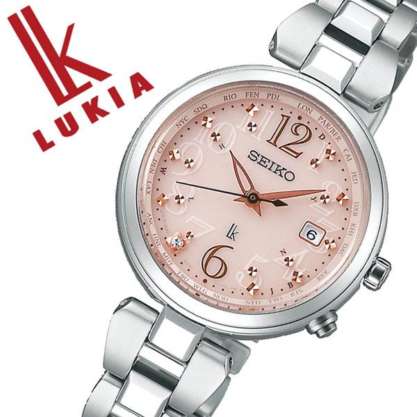 [当日出荷] セイコー ルキア 腕時計 SEIKO LUKIA 時計 セイコー 時計 SEIKO 腕時計 レディース ピンク SSQV047 ダイヤ プレゼント ギフト シンプル ラウンド カレンダー ビジネス ファッション カジュアル かわいい 送料無料