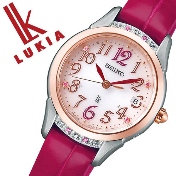 [当日出荷] セイコー ルキア 腕時計 SEIKO LUKIA 時計 セイコー 時計 SEIKO 腕時計 レディース ピンク SSVW140 ダイヤ ピンクサファイア シンプル カレンダー 限定 プレゼント ギフト ダイヤ かわいい ファッション カジュアル 送料無料