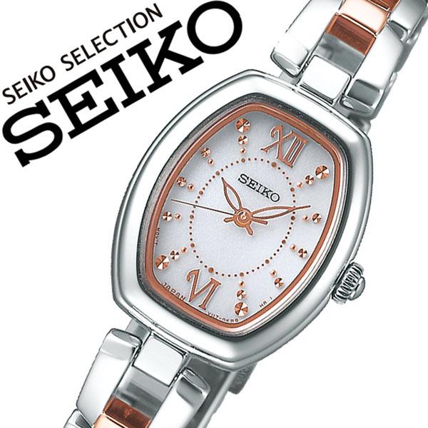 セイコー セイコーセレクション 腕時計 SEIKO SEIKOSELECTION 時計 セイコー 時計 SEIKO 腕時計 レディース シルバー SWFA179 プレゼント ゴールド ギフト かわいい ファッション カジュアル シンプル ビジネス 送料無料