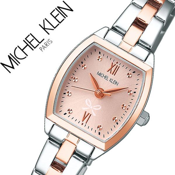 ミッシェルクラン 腕時計 MICHELKLEIN 時計 ミッシェル クラン 時計 MICHEL KLEIN 腕時計 レディース ピンク AJCK097 エレガント ジュエリー リボン 女性 ビジネス カジュアル ファッション ブランド ドレス スーツ 送料無料