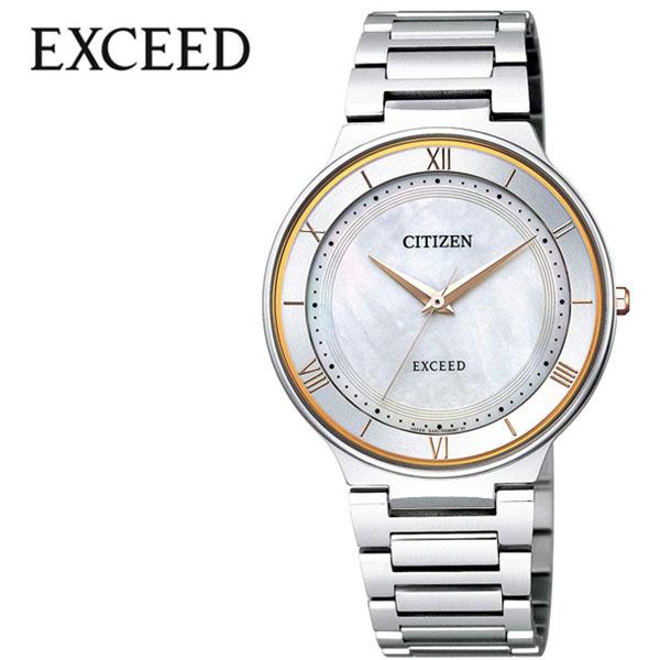 シチズン 腕時計 CITIZEN 時計 シチズン 時計 CITIZEN 腕時計 エクシード EXCEED メンズ ホワイト AR0080-58P アナログ ゴールド プレゼント ギフト シンプル 人気 ラウンド ビジネス ファッション カジュアル 送料無料