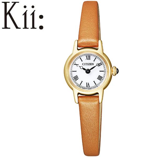 シチズン 腕時計 CITIZEN 時計 シチズン 時計 CITIZEN 腕時計 キー Kii レディース ホワイト EG2995-28A 正規品 エコ・ドライブ ソーラー 小さい 小さめ かわいい エレガント クラシカル 丸型 ラウンド ファッション おしゃれ おすすめ 人気 ブランド プレゼント 送料無料