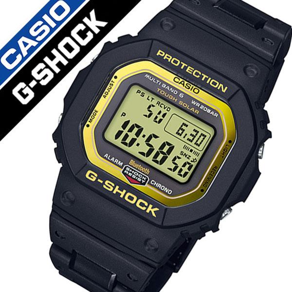 カシオ ジーショック ソーラー 電波 時計 CASIO G-SHOCK 腕時計 メンズ イエロー GW-B5600BC-1JF[Gショック ゴールド ブランド 防水 カジュアル ファッション デジタル DW-5600 頑丈 人気 アプリ プレゼント ギフト]