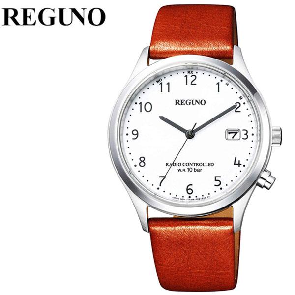 シチズン 腕時計 CITIZEN 時計 シチズン 時計 CITIZEN 腕時計 レグノ REGUNO メンズ ホワイト KL8-911-10 アナログ シルバー プレゼント ギフト シンプル 人気 ラウンド ビジネス ファッション カジュアル 送料無料