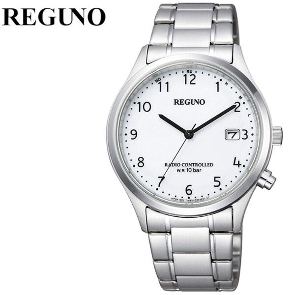 シチズン 腕時計 CITIZEN 時計 シチズン 時計 CITIZEN 腕時計 レグノ REGUNO メンズ ホワイト KL8-911-11 アナログ プレゼント ギフト 電波 シンプル 人気 ラウンド ビジネス ファッション カジュアル 送料無料