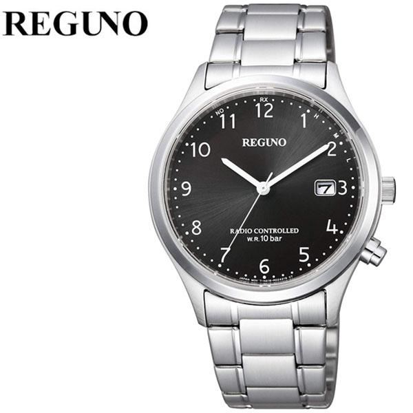 シチズン 腕時計 CITIZEN 時計 シチズン 時計 CITIZEN 腕時計 レグノ REGUNO メンズ ブラック KL8-911-51 アナログ プレゼント ギフト 電波 シンプル 人気 ラウンド ビジネス ファッション カジュアル 送料無料
