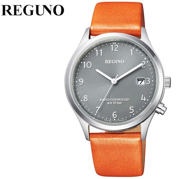 シチズン 腕時計 CITIZEN 時計 シチズン 時計 CITIZEN 腕時計 レグノ REGUNO メンズ グレー KL8-911-60 アナログ プレゼント ギフト 電波 シンプル 人気 ラウンド ビジネス ファッション カジュアル