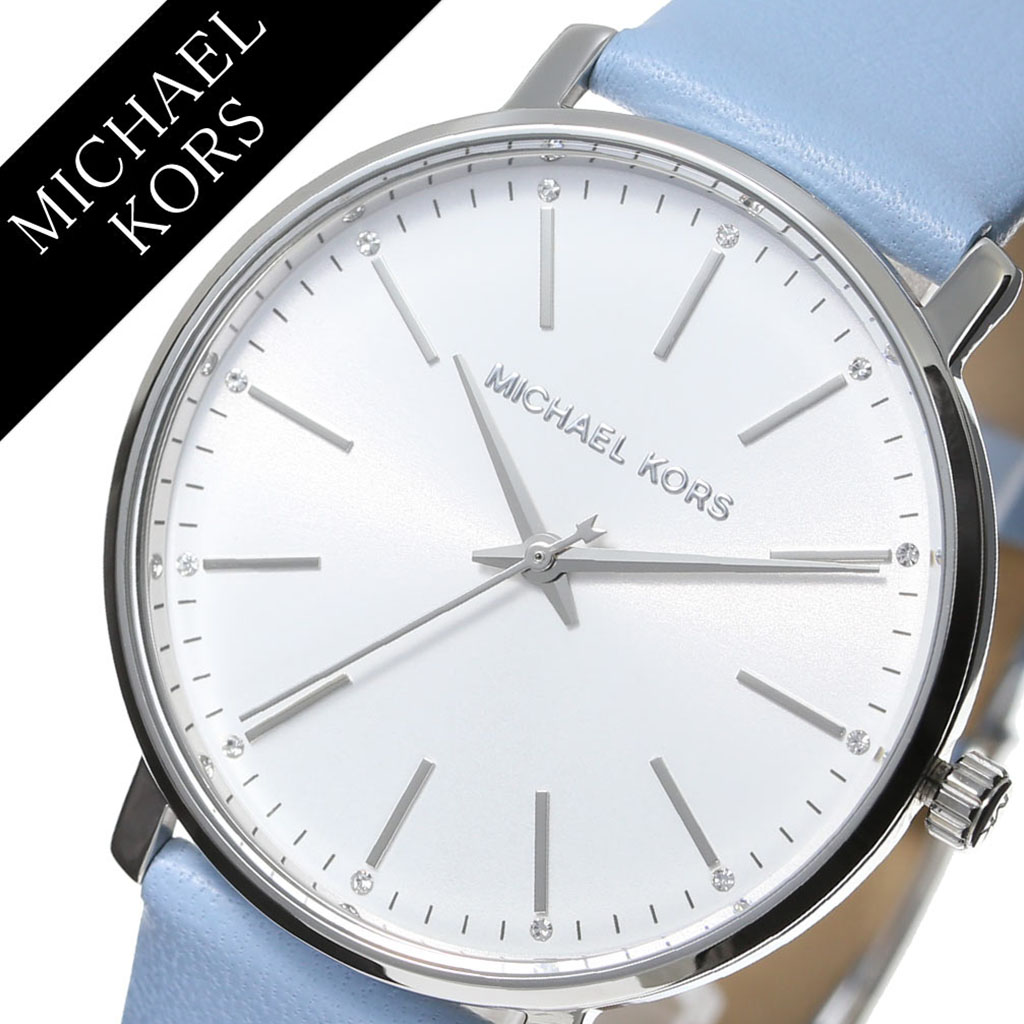 4930d1ea2b11 マイケルコース腕時計MichaelKors時計マイケルコース時計MichaelKors腕時計パイパーPYPERレディースシルバーMK2739アナログ
