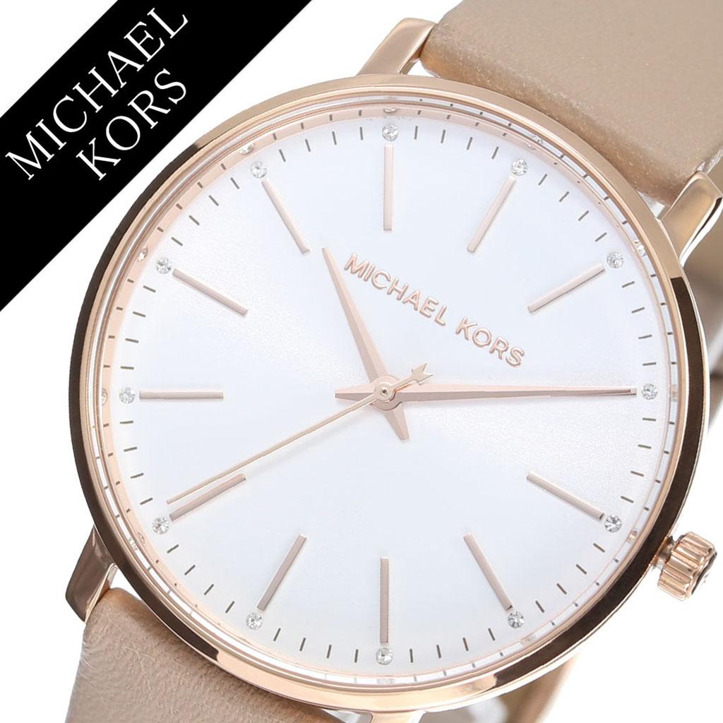 7824034a2bce マイケルコース腕時計MichaelKors時計マイケルコース時計MichaelKors腕時計パイパーPYPERレディースシルバーMK2748アナログ