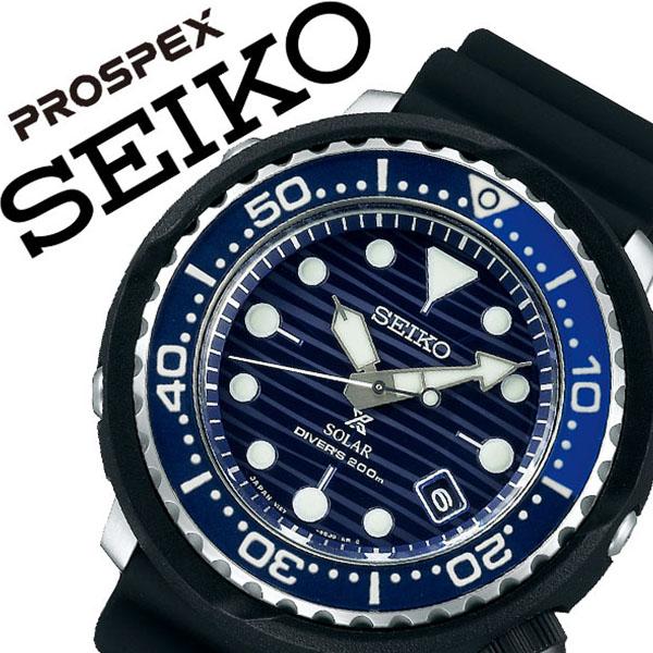 セイコー 腕時計 SEIKO 時計 セイコー 時計 SEIKO 腕時計 プロスペックス PROSPEX メンズ ブルー SBDJ045 ソーラー Save the Ocean ファビアン クストー 海 潜水 ダイビング ダイバー ツナ缶 ファッション スポーツ シリコン 父の日 ギフト