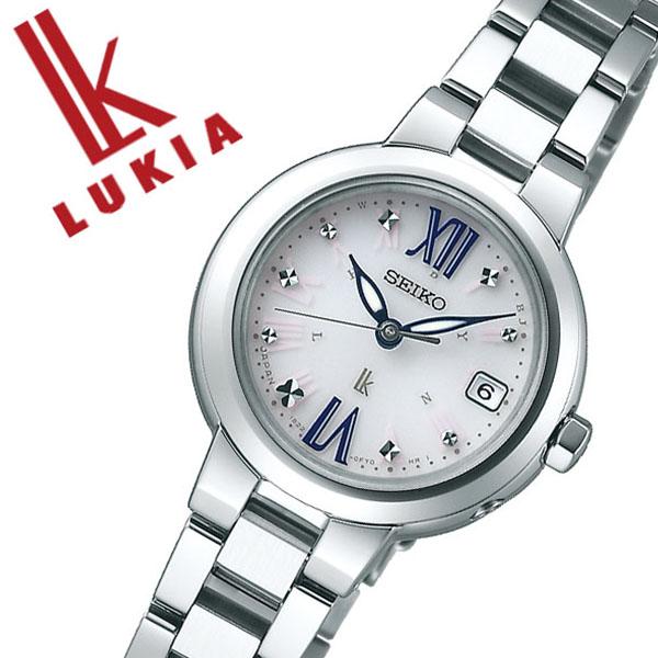 セイコー 腕時計 SEIKO 時計 セイコー 時計 SEIKO 腕時計 ルキア LUKIA レディース ホワイト SSVW135 ソーラー 電波 おしゃれ かわいい ファッション ビジネス スーツ ラウンド 女性 仕事 送料無料