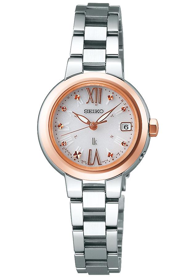 セイコー 腕時計 SEIKO 時計 セイコー 時計 SEIKO 腕時計 ルキア LUKIA レディース ホワイト SSVW138 ソーラー 電波 おしゃれ かわいい ファッション ビジネス スーツ ラウンド 女性 仕事