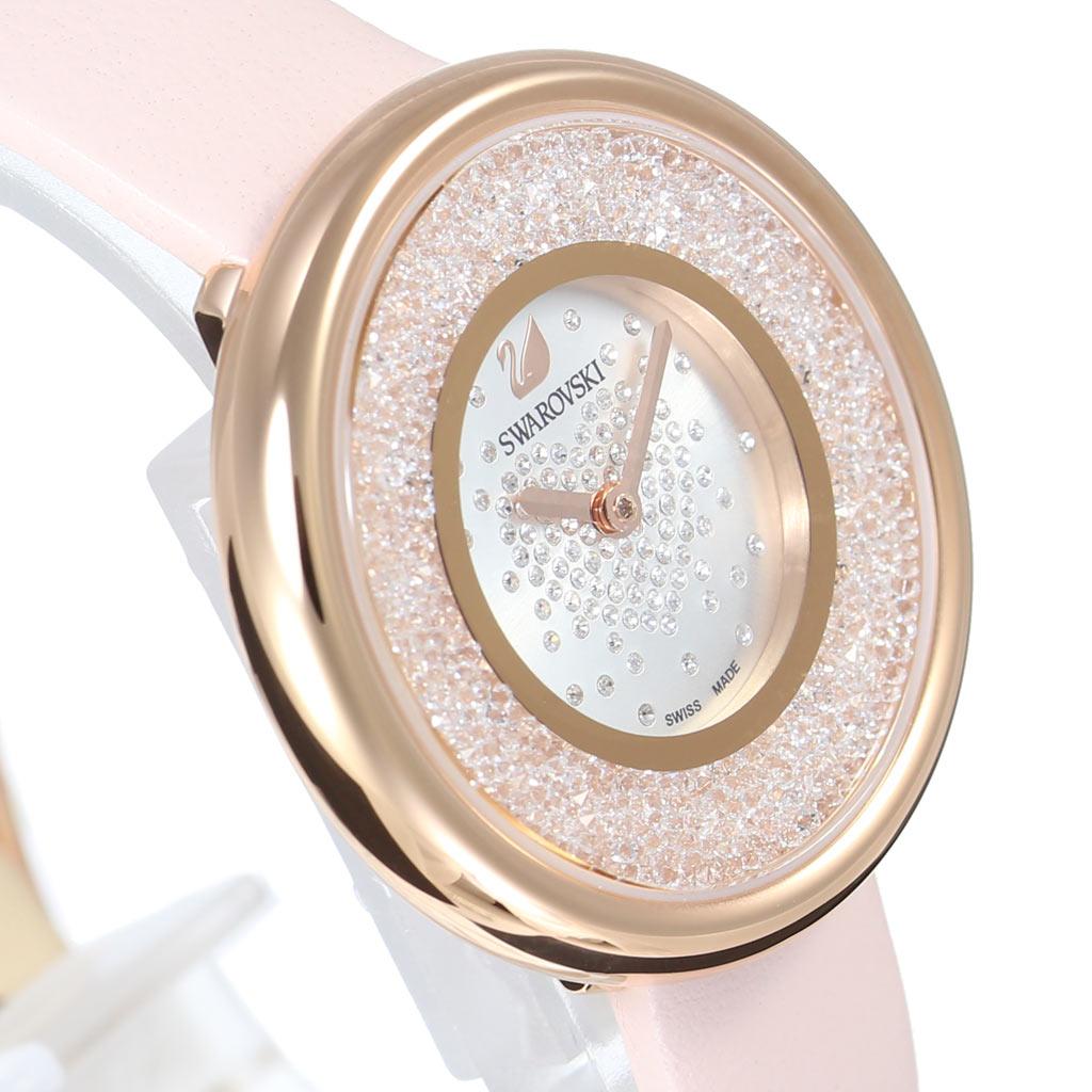 609a1f41a5c5 ... スワロフスキー腕時計Swarovski時計クリスタルラインピュアCrystallinePureレディース女性向け彼女妻嫁シルバー5376086  ...