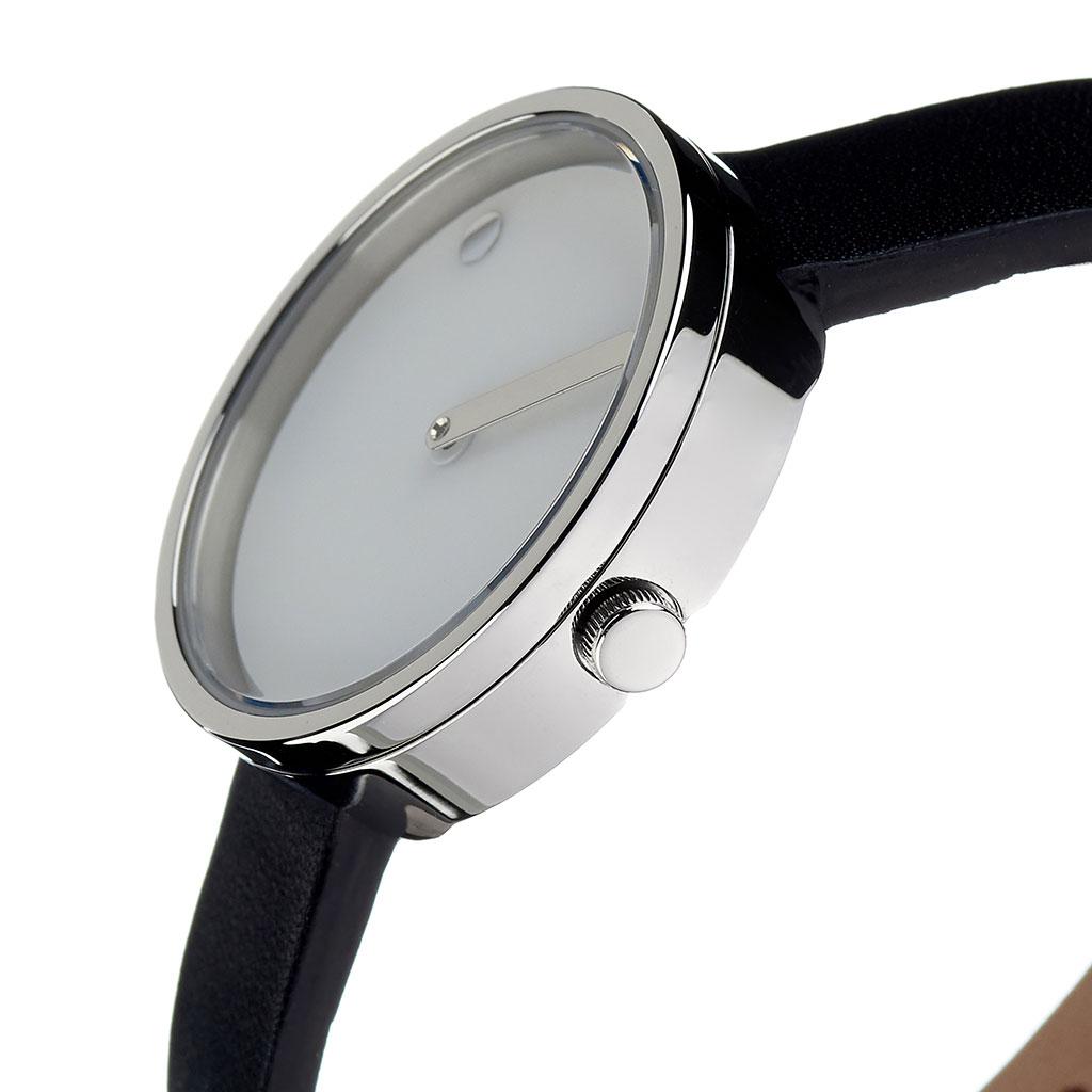 ピクト 腕時計 PICTO 時計 ピクト時計 ピクト腕時計 スティールケース アンド レザーストラップ STEEL CASE & LEATHER STRAP メンズ レディース ホワイト 43363-4112S 人気 お洒落 シルバー 流行 おすすめ 北欧 革 ブランド シンプル アナログ カジュアル プレゼント