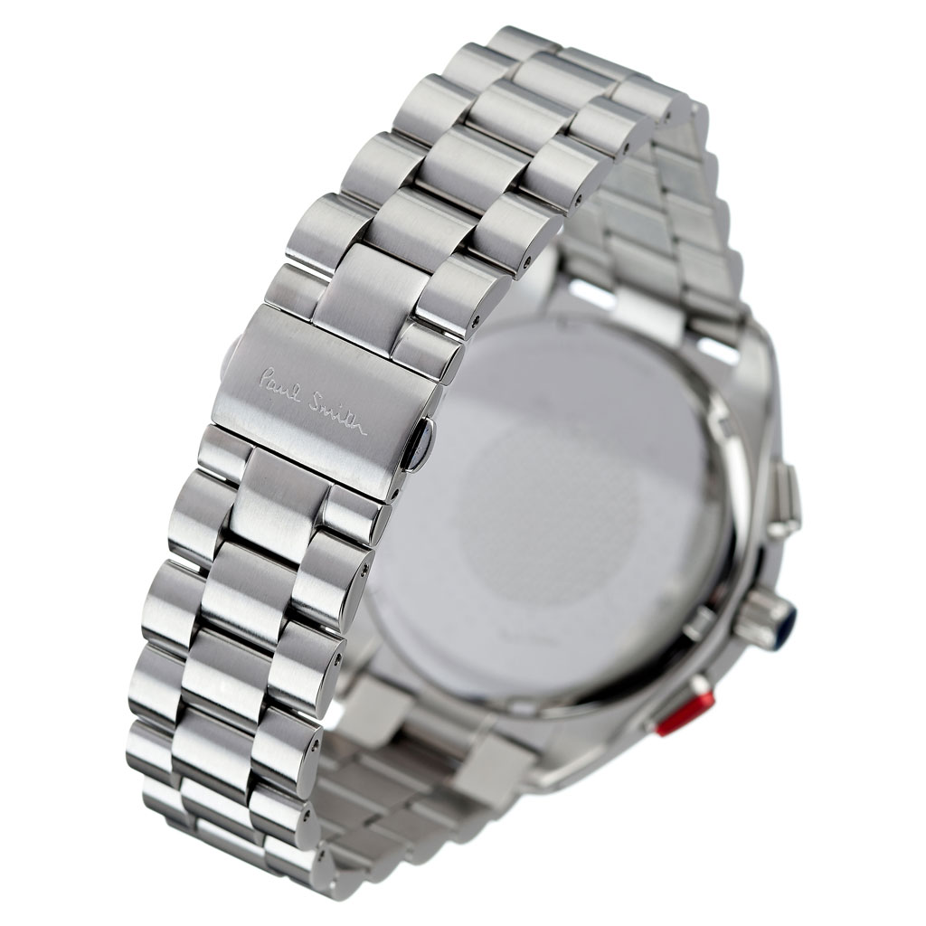 ポールスミス 腕時計 Paulsmith 時計 ポール スミス Paul smith ポールスミス時計 メンズ 男性 用 彼氏 夫 旦那 ブラック PS0110015 人気 お洒落 流行 ブランド クロノグラフ シンプル ビジネス スーツ プレゼント