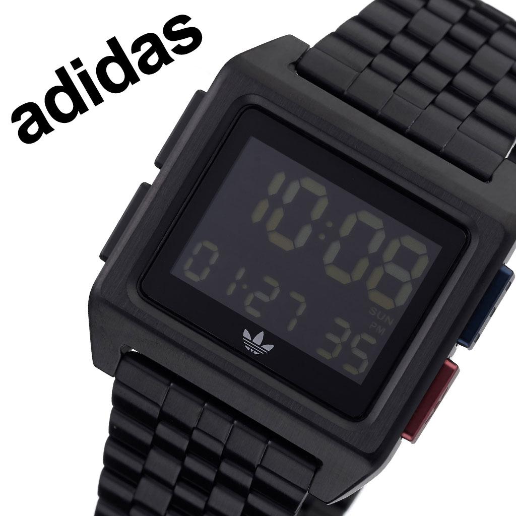 アディダス オリジナルス 腕時計 adidas Originals 時計 アディダス時計 adidas腕時計 アーカイブエム1 ARCHIVE_M1 メンズ レディース 男性 女性 ブラック Z01-3042-00 人気 お洒落 ブランド シンプル デジタル カジュアル スポーツ ウォッチ ギフト プレゼント 送料無料