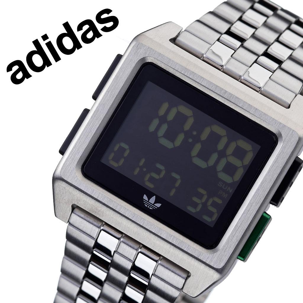 アディダス オリジナルス 腕時計 adidas Originals 時計 アディダス時計 adidas腕時計 アーカイブエム1 ARCHIVE_M1 メンズ レディース 男性 女性 ブラック Z01-3043-00 人気 お洒落 ブランド グリーン シンプル デジタル カジュアル スポーツ ウォッチ ギフト プレゼント
