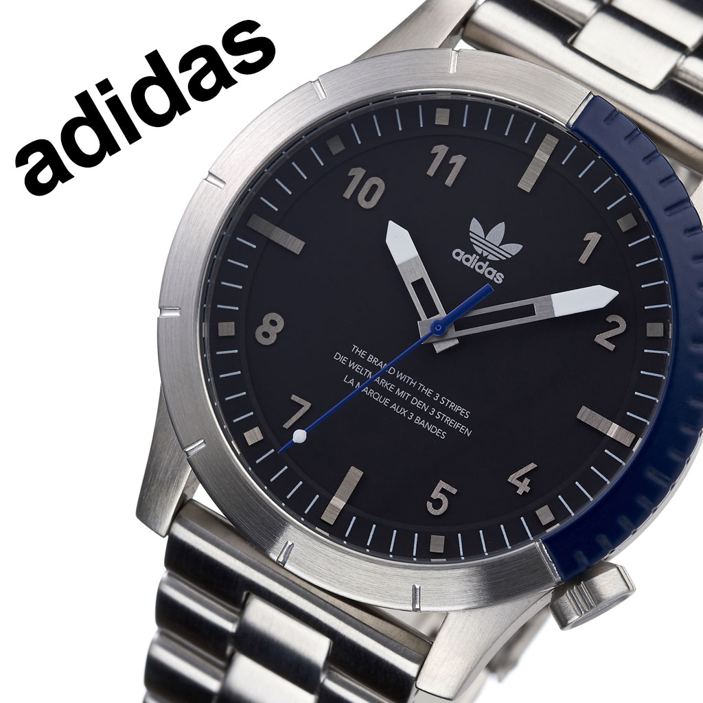 アディダス オリジナルス 腕時計 adidas Originals 時計 アディダス時計 サイファーエム1 Cypher_M1 メンズ レディース 男性 女性 ブラック Z03-2184-00 人気 お洒落 ブランド ブルー ラウンド シンプル カジュアル スポーツ ウォッチ ギフト プレゼント 送料無料