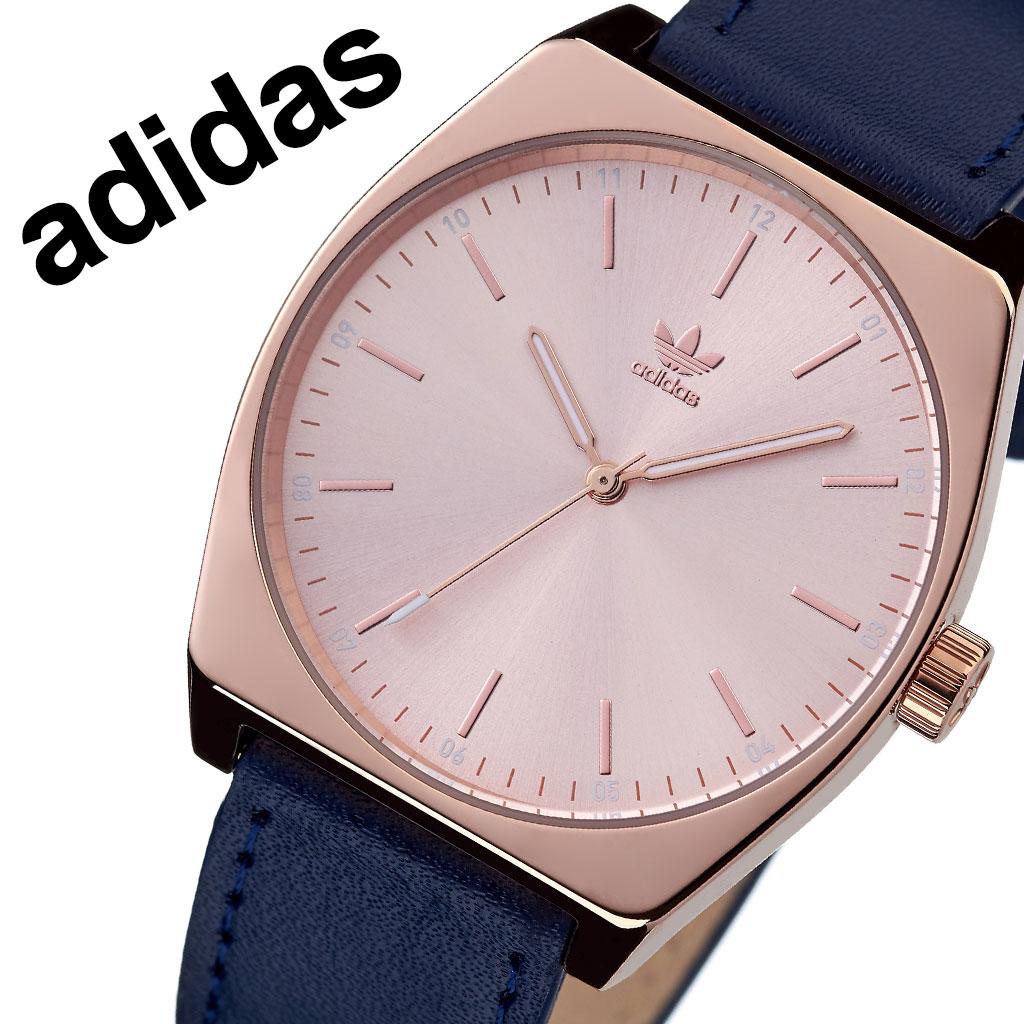 アディダス オリジナルス 腕時計 adidas Originals 時計 アディダス時計 プロセスエル1 PROCESS_L1 メンズ レディース 男性 女性 ローズゴールド Z05-2908-00 人気 おしゃれ ブランド ラウンド 革 シンプル カジュアル スポーツ ウォッチ ギフト プレゼント 送料無料