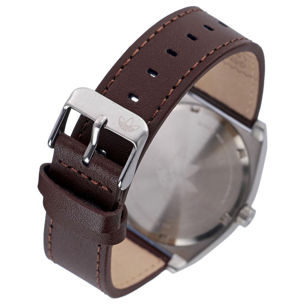 アディダス オリジナルス 腕時計 adidas Originals 時計 アディダス時計 プロセスエル1 PROCESS_L1 メンズ レディース 男性 女性 ネイビー Z05-2920-00 人気 おしゃれ ブランド シルバー ラウンド 革 シンプル カジュアル スポーツ ウォッチ ギフト プレゼント