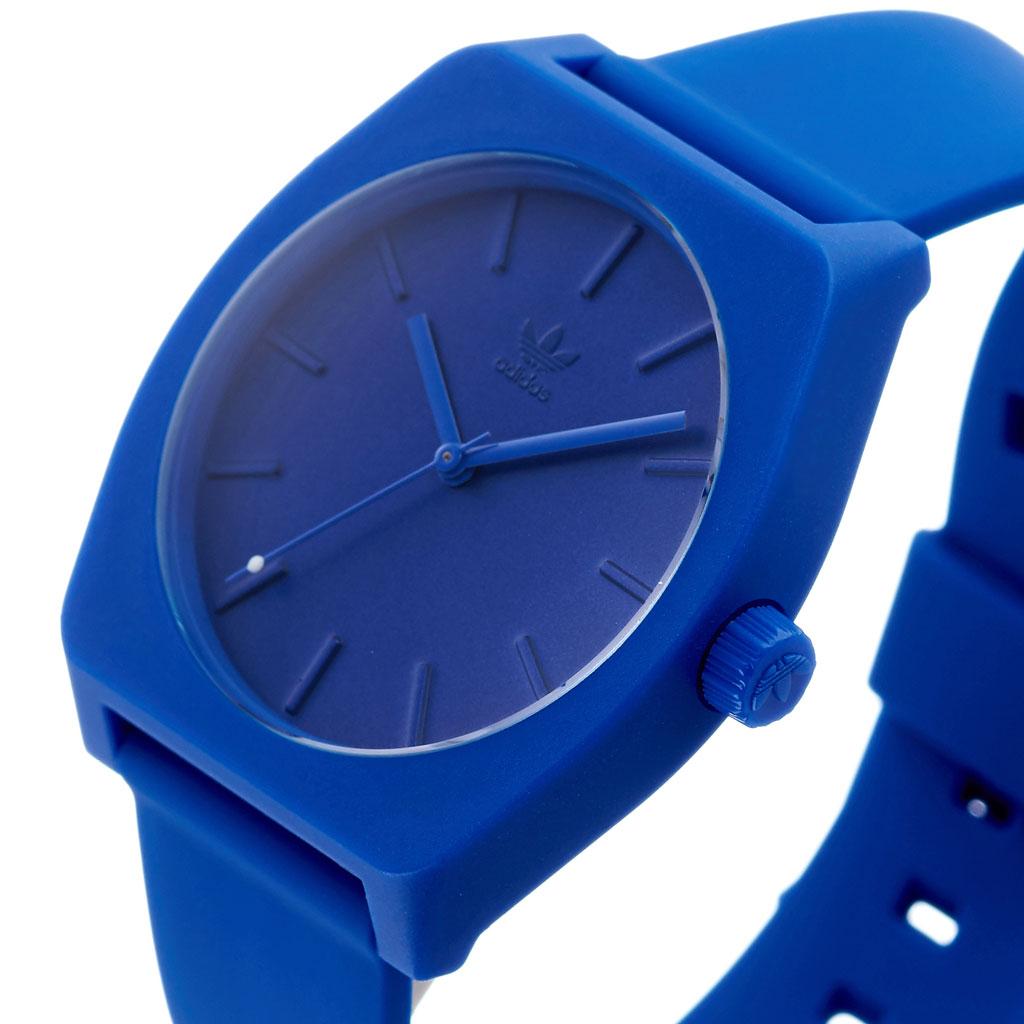 アディダス オリジナルス 腕時計 adidas Originals 時計 アディダス時計 adidas腕時計 プロセスエスピー1 PROCESS_SP1 メンズ レディース 男性 女性 ブルー Z10-2490-00 人気 おしゃれ ブランド ラウンド シンプル アナログ カジュアル スポーツ ウォッチ ギフト プレゼント