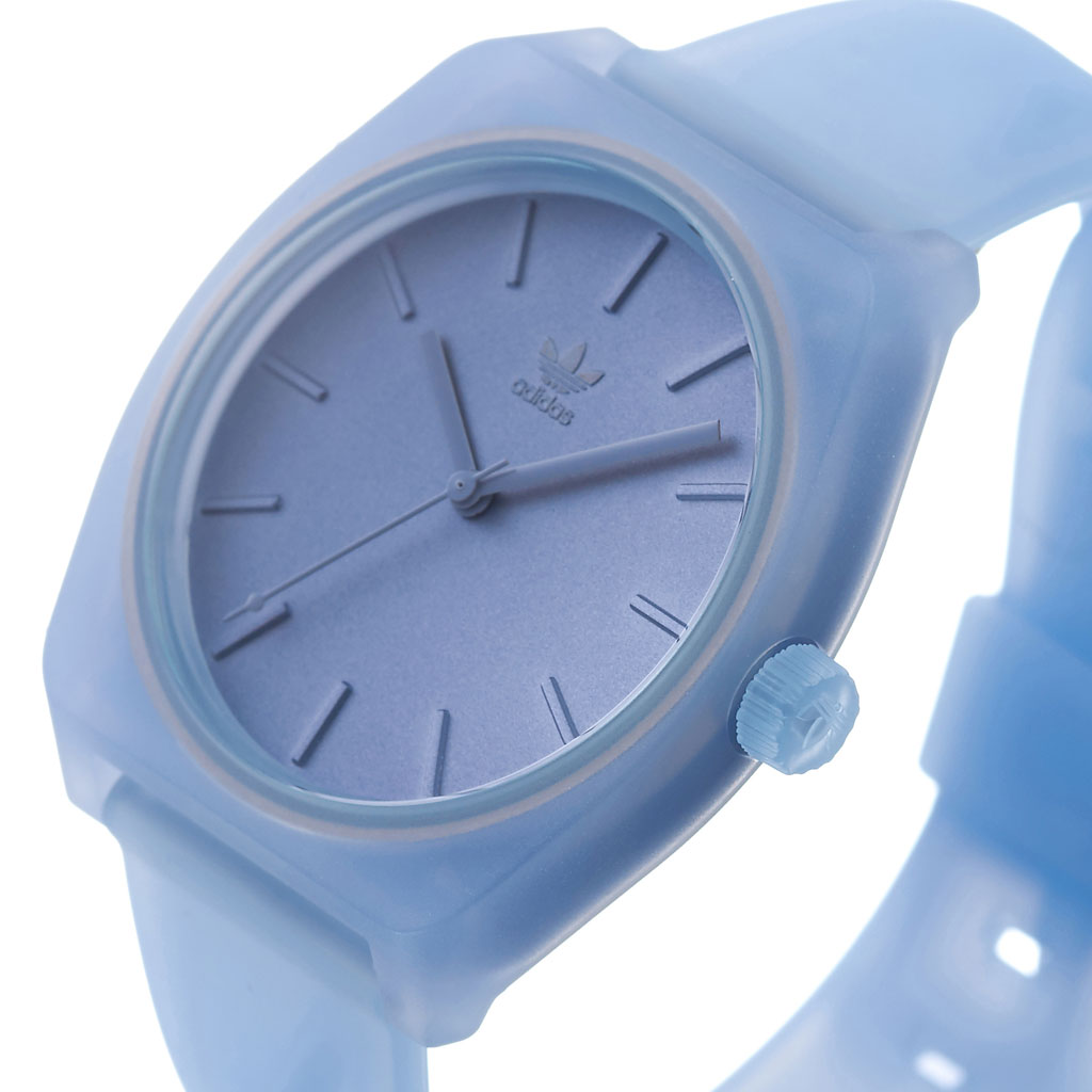 Adidas originals watch adidas Originals clock Adidas clock adidas watch process Espy 1 PROCESS_SP1 men gap Dis male woman clear blue Z10 3048 00