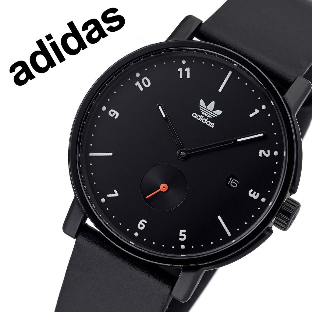 アディダス オリジナルス 腕時計 adidas Originals 時計 アディダス時計 ディストリクトエルエックス2 DISTRICT_LX2 メンズ レディース 男性 女性 ブラック Z12-3037-00 人気 おしゃれ ブランド ラウンド シンプル カジュアル スポーツ ウォッチ ギフト プレゼント 送料無料