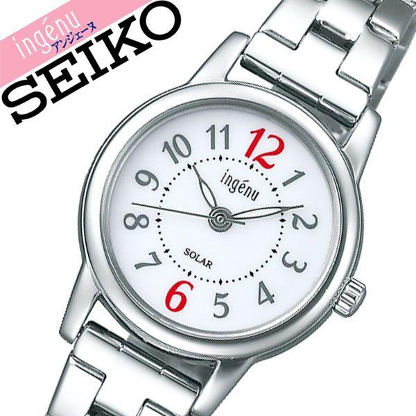 【5年保証対象】セイコー 腕時計 SEIKO 時計 セイコー時計 SEIKO腕時計 アルバ アンジェーヌ ALBA ingenu レディース ホワイト AHJD401 [ 正規品 人気 彼女 嫁 妻 かわいい おしゃれ ファッション ビジネス フォーマル プレゼント ギフト ]