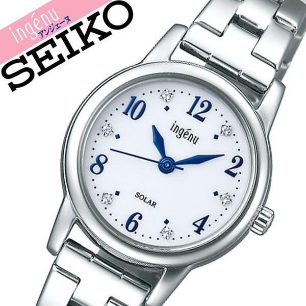【5年保証対象】セイコー 腕時計 SEIKO 時計 セイコー時計 SEIKO腕時計 アルバ アンジェーヌ ALBA ingenu レディース ホワイト AHJD405 [ 正規品 人気 彼女 嫁 妻 かわいい おしゃれ ファッション ビジネス フォーマル プレゼント ギフト ]