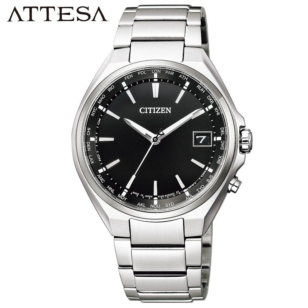【5年保証対象】シチズン 腕時計 CITIZEN 時計 アテッサ ATTESA メンズ ブラック CB1120-50E 正規品 人気 流行 おしゃれ 定番 仕事 サラリーマン スーツ 営業 高級感 上品 ビジネス カジュアル