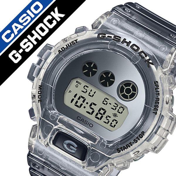 【5年保証対象】カシオ 腕時計 CASIO 時計 ジーショック クリアースケルトン G-SHOCK Clear Skeleton メンズ シルバー DW-6900SK-1JF [ 正規品 新作 人気 ブランド Gショック G-SHOCK ジー ショック ファッション おしゃれ ]