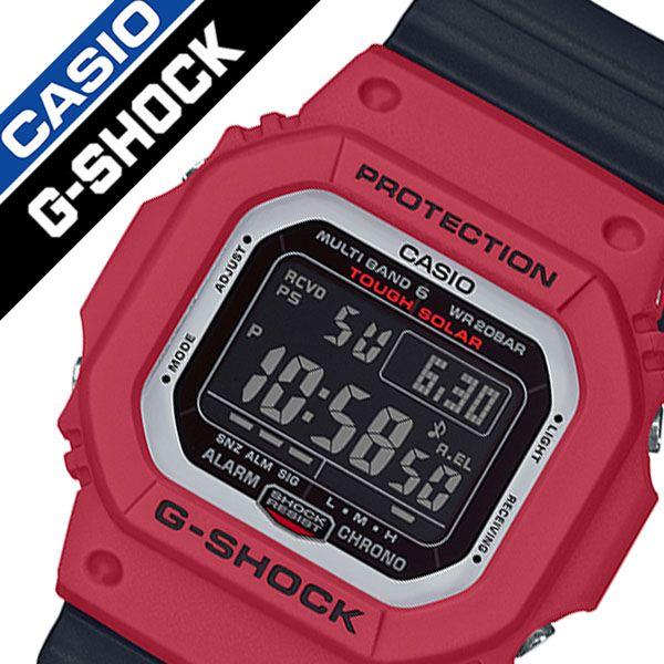 【5年保証対象】カシオ 腕時計 CASIO 時計 ジーショック G-SHOCK メンズ ブラック GW-M5610RB-4JF 正規品 新作 人気 おすすめ 流行 ブランド 防水 高級 ソーラー 電波 耐衝撃構造 強い ラバー ラバーベルト 父の日 ギフト