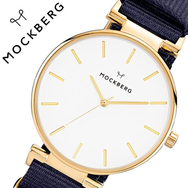[当日出荷] モックバーグ 腕時計 MOCKBERG 時計 Modest レディース ホワイト MO613 [ 正規品 人気 ブランド 女性用 彼女 妻 嫁 上品 かわいい シンプル ゴールド プレゼント ギフト 華奢 ]送料無料