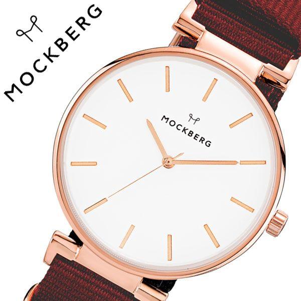 [当日出荷] モックバーグ 腕時計 MOCKBERG 時計 Modest レディース ホワイト MO614 [ 正規品 人気 ブランド 女性用 彼女 妻 嫁 上品 かわいい 薄型 アクセサリー シンプル ローズゴールド プレゼント ギフト ]送料無料
