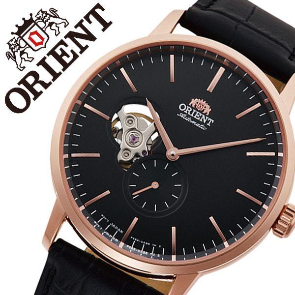 【5年保証対象】オリエント 腕時計 ORIENT 時計 オリエント 時計 ORIENT 腕時計 コンテンポラリー メカニカル CONTEMPORARY メンズ ブラック RN-AR0103B 正規品 ブランド ビジネス 防水 アナログ 男性 彼氏 夫 プレゼント 父の日 ギフト