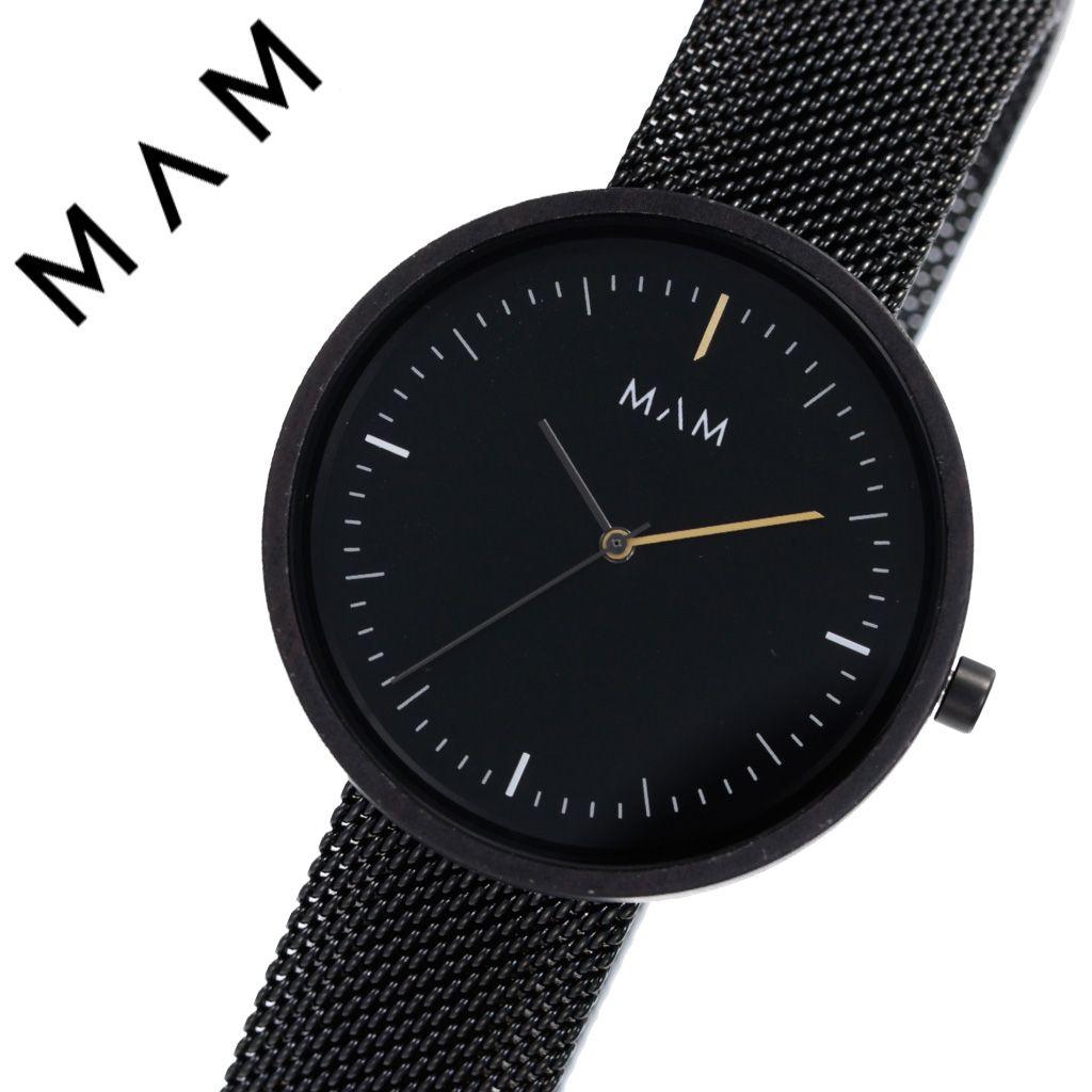 マム腕時計 MAM 時計 マム 時計 MAM腕時計 プラノ PLANO ユニセックス メンズ レディース ブラック MAM684 [ 人気 ブランド 木製 おしゃれ ファッション カジュアル 個性的 ウッド ウォッチ エコ エシカル シンプル 環境 ペア カップル 夫婦 プレゼント ギフト ]送料無料