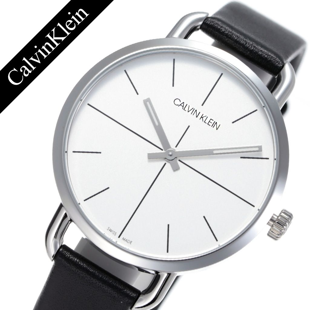 カルバンクライン 腕時計 CalvinKlein 時計 カルバン クライン 時計 Calvin Klein 腕時計 イーブンエクステンション Even Extension メンズ ホワイト K7B231CY [ 人気 ブランド アナログ ck シーケー シンプル ファッション おしゃれ ビジネス カジュアル 彼氏 旦那 夫 ]