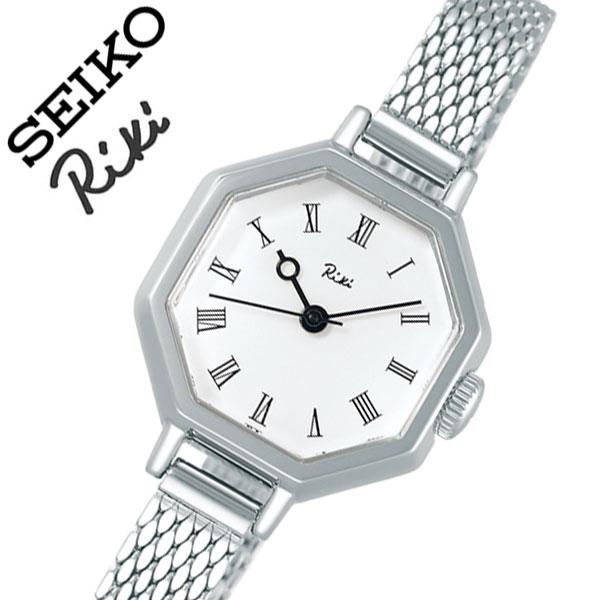 【5年保証対象】セイコー 腕時計 SEIKO 時計 セイコー時計 SEIKO腕時計 リキ 八角クラシック RIKI レディース ホワイト AKQK454 [ 人気 正規品 ブランド 新作 おすすめ 渡辺力 デザイナーファッション おしゃれ カジュアル かわいい ビンテージ プレゼント ギフト ]送料無料