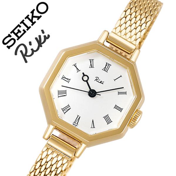 【5年保証対象】セイコー 腕時計 SEIKO 時計 セイコー時計 SEIKO腕時計 リキ 八角クラシック RIKI レディース ホワイト AKQK455 [ 人気 正規品 ブランド 新作 おすすめ 渡辺力 デザイナーファッション おしゃれ カジュアル かわいい ビンテージ プレゼント ギフト ]送料無料