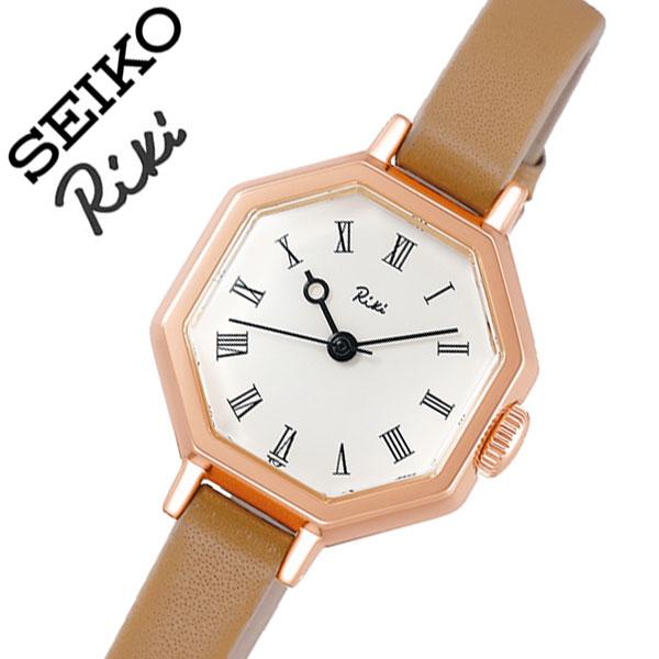 【5年保証対象】セイコー 腕時計 SEIKO 時計 セイコー時計 SEIKO腕時計 リキ 八角クラシック RIKI レディース ホワイト AKQK457 [ 人気 正規品 ブランド 新作 おすすめ 渡辺力 デザイナーファッション おしゃれ カジュアル かわいい ビンテージ プレゼント ギフト ]送料無料