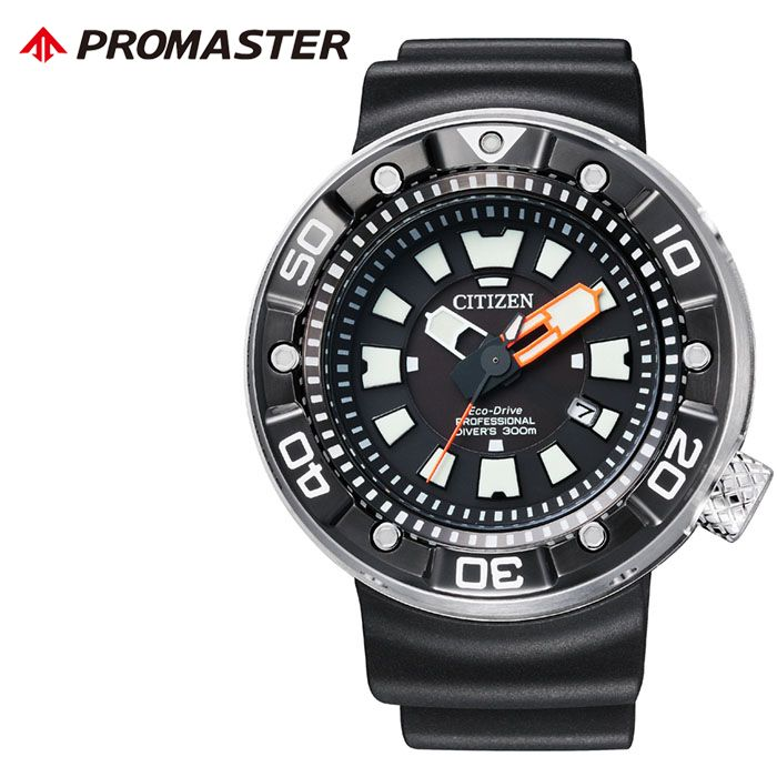 【5年保証対象】シチズン 腕時計 CITIZEN 時計 プロマスター PROMASTER メンズ ブラック BN0176-08E [ 人気 正規品 ブランド おすすめ 防水 ダイバーズ スポーツ 潜水 エコドライブ ソーラー ダイビング プレゼント ギフト ]送料無料